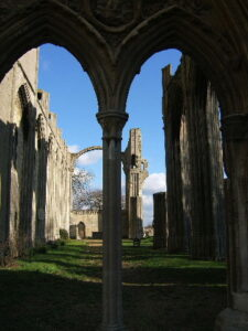 Crowland Abbey Nave looking east